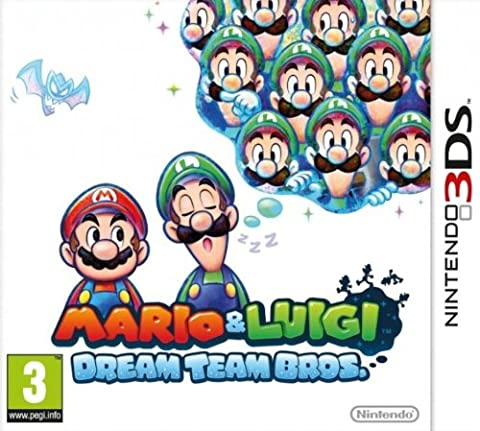 Mario Et Luigi Dream Team Bros 3ds - Mario & Luigi : Dream Team Bros