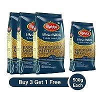 Manna Barnyard Millet Buy 3 Get 1 Free (500Gs Each) - Khira/Swank/Kuthiraivally/Udalu/Kodisama/siridhanya