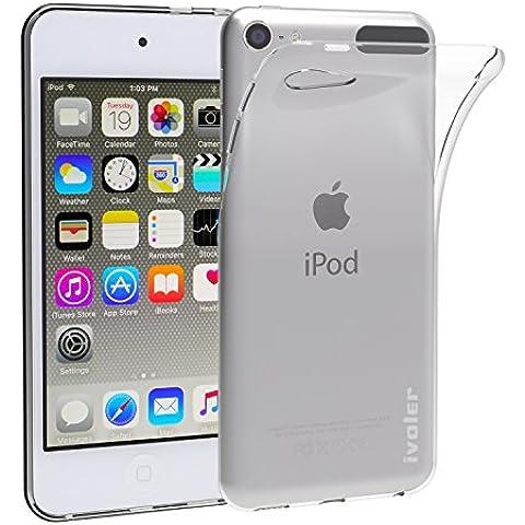 iPod Touch 6G & 5G Funda, iVoler TPU Silicona Case Cover Dura Parachoques Carcasa Funda Bumper para Appple iPod Touch 6G & 5G, [Ultra-delgado] [Shock-Absorción] [Anti-Arañazos] [Transparente]- Garantía Incondicional de 18