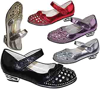 Girls Silver Sparkle Shoes UK infant size 10 to size 2 £15