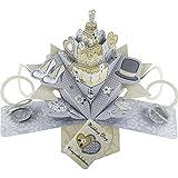 3D Pop-Up Luxus Grusskarte Hochzeitskarte zur Hochzeit