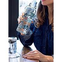 Soulbottle Glas-Trinkflasche