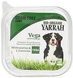 YARRAH Hund Bröckchen Vegan mit Gemüse und Hagebutte, 150 g
