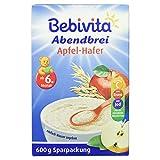 Bebivita Abendbrei Apfel-Hafer, 600 g