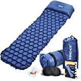 Best Self Inflating Pads - essence' Camping Mat - Ultralight Self Inflating Sleeping Review