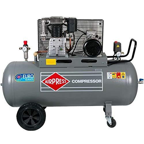 4/KW, 11/Bar, 200l a, 400/Volt /200/ Grande Munito di Compressore Airpress/® oelgeschmierter pressione dell aria del compressore HK 650/