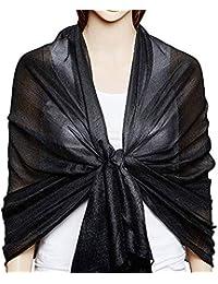 Rovinci Été Printemps Femmes Fil Balinais Couleur Unie Point Impression  Coton Écharpe Mode Rétro Femelle Polyvalent 6dc16f10f04