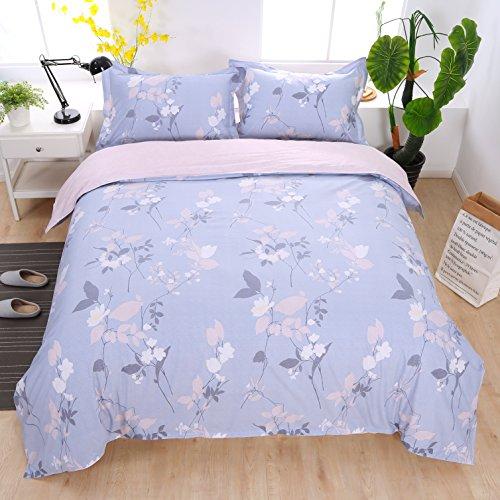 Set copripiumino elegante doppio 200x200cm con 2 federe 50x75cm 3 pezzi set biancheria da letto reversibile in cotone 40s 200tc