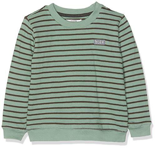 Noppies Jungen Sweatshirt B Sweater ls Potomac y/d STR Mehrfarbig (Sage P015) 92
