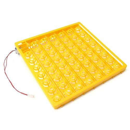 ChaRLes 55 Position Inkubator Drehen eines Tabletts mit einem PCB-Drehmotor 110 V AC für Eier Wachtelgeflügel