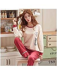 c6dc8328f8 HAOLIEQUAN Conjunto De Pijamas para Mujer