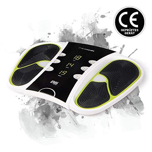 Massaggiatore elettrico per circolazione piedi e gambe - massaggiatore plantare benessere piedi 99 intensità 25 programmi shiatsu - elettrostimolatore contro piedi freddi e gambe gonfie - telecomando