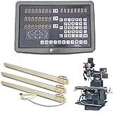 Alta precisión GOWE juego máquina fresadora 3 axis digital rea dout