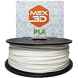 mex3d Pla Filament–3mm–1KG, 1 kg, Weiss, 1
