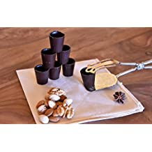 Dolci Aveja Bicchierini di Cioccolato Fondente - Pacco da 50 x 400 g