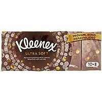 Pañuelos Kleenex Ultrasoft Delicados y Suaves - 5 Packs de 10 Paquetes - Total: 50 Paquetes