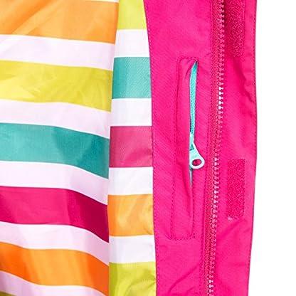 Trespass Kids' Lunaria Waterproof Rain/Outdoor Jacket 7
