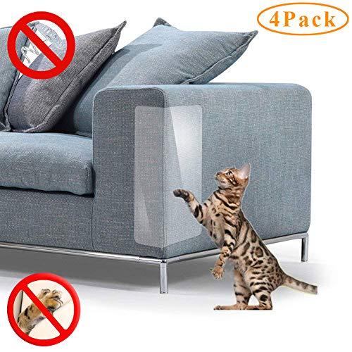 für Katzen Kratzschutz Krallenabwehr Couch Guard für Sofa Tisch Set Schonbezüge Pads, Plastik, 18''Long*8''Wide(2019) ()