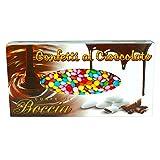 Lenticchie Mignon Kg 1 - Piccolissimi Confettini colorati ripieni di cioccolato al latte - Coloratissimi e dolci, ideali per rallegrare la festa ed utilizzati anche per addobbare dolci e gelati