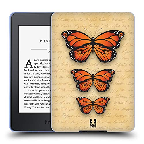 itschrift Monarch-Schmetterling Muster Soft Gel Hülle für Amazon Kindle Paperwhite 3 ()