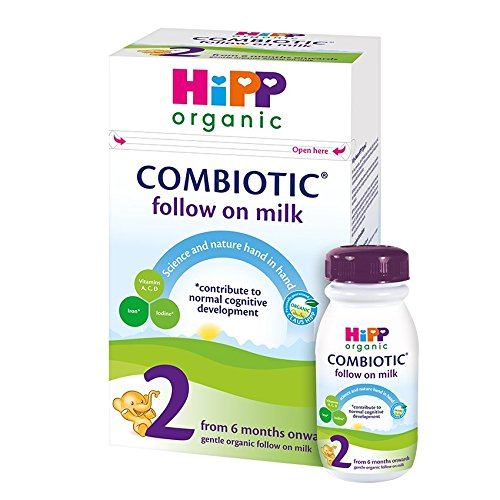 Hipp Orgánico Combiotik 2 leche continuación - partir