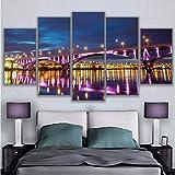 Leinwand Wandkunst Modulare Bilder Wohnzimmer Wohnkultur 5