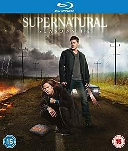 Supernatural (Seasons 1-8) - 31-Disc Box Set ( Super natural ) [ Origine UK, Sans Langue Francaise ] (Blu-Ray)
