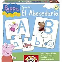 Peppa Pig- Aprendo el abecedario, juego educativo (Educa-Borrás 15652)