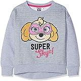 Nickelodeon Paw Patrol Super Hero, Felpa Bambina, (dgrey Light Grey Melange), 5 Anni