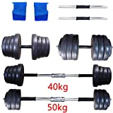 MultiWare 40KG 50KG Dumbbell Set Gym Fitness Exercise Sports Home Weights Training