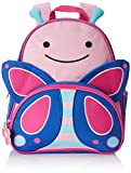Skip Hop 210225 Zoo Kleinkind Rucksack, mit Namensschild, mehrfarbig, Schmetterling Blossom