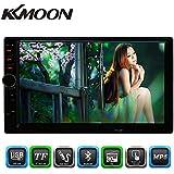 KKmoon 7 Pulgadas DVD Reproductor Multimedia HD Pantalla Táctil Multilenguaje + Cámara de Visión Trasera para Coche
