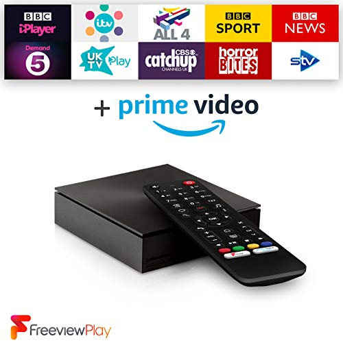 Netgem NetBox: Full HD TV box Freeview Live Channels, Freeview Play  built-in and Streaming Apps