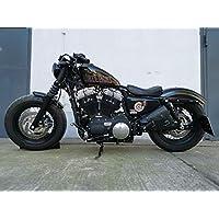 Satteltasche f/ür Harley Davidson Sportster 883 Iron Indiana Schwarz rechts XL 883 N