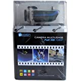 HEDEN - Caméra sport - FULL HD 1080p -Waterproof - Télécommande - Ecran LCD