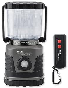 LiteXpress Camp 203RC Lanterne de camping télécommandée 4 LED haute puissance 300 lumen Boîtier plastique Gris/noir par liteXpress