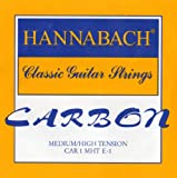 Hannabach Cordes Guitare classique CARBONE Medium/High tension Aigue Mi1 corde unique