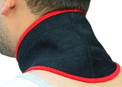 Preisvergleich Produktbild Magnetische Neopren Nackenunterstützung – einstellbar – Schnell an/aus – Wärme & Druck wo er am meisten gebraucht wird