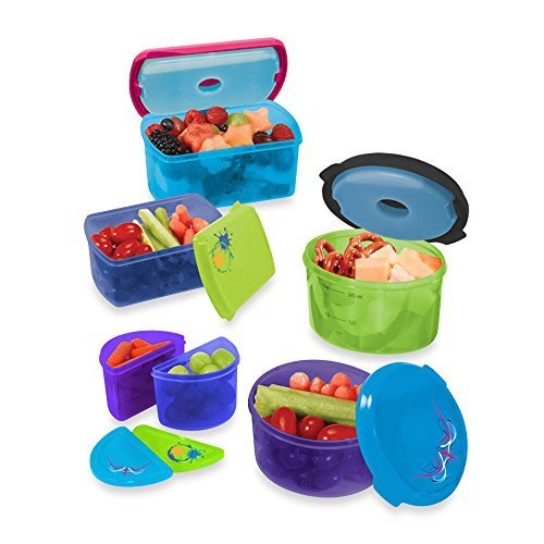fit-fresh-kids-14-piece-food-storage-container-set-with-removable-ice-packs-by-fit-fresh