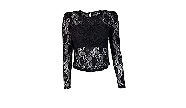 Amazon Darla Ls L Top it Abbigliamento qdt6vtOwnx