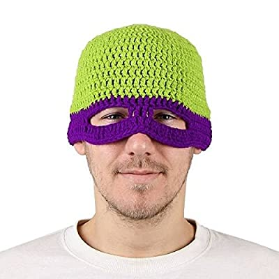 Calli Teenage Mutant Ninja Turtles volles Gesichts Abdeckungs Skimaske Octopus Knit Winddichte warme Kappe