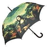 VON LILIENFELD® Parapluie Automatique Femme Art Motiv Léonard de Vinci : Mona Lisa