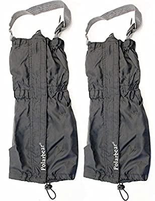 OUTDOOR SAXX Paar Gamaschen Unigröße wasserdicht strapazierfähig für Wandern in Schnee Regen Gestrüpp Stiefel Schutz wasserabweisend für Damen