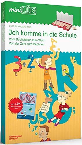 en + Übungsheft/e: miniLÜK-Set: Vorschule/1. Klasse - Mathematik, Deutsch: Ich komme in die Schule ()