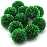 RUBY- 20 piezas Pompones de Bola Ø20mm para decoración creativas. ENVÍOS DESDE ESPAÑA (Verde)