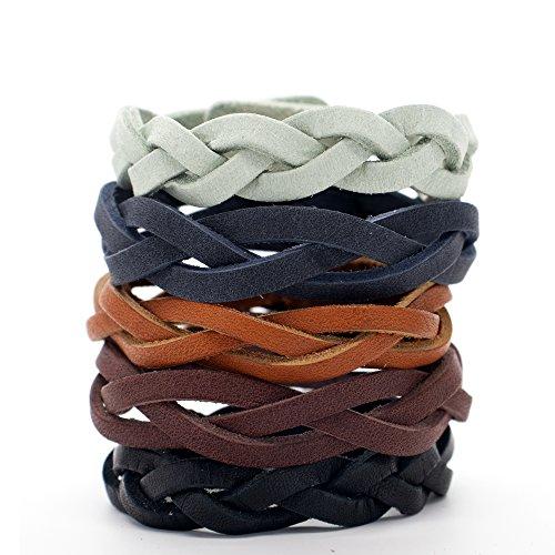Realeather Crafts Leder Lederwaren Kit Mystery Braid Armbänder 8kg - Armband Craft Kit