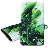 stilbag avec 'Mika' pour Samsung Galaxy Alpha-Design?: Abstrait vert