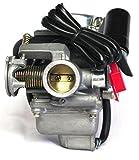 Vergaser 24mm 4 Takt China Motoren Baotian,Benzhou, China Scooter, Huatian, Rex, Jiajue, Jinlun, Jmstar, Qingqi, Lifan, Seikel, Tauris 50ccm