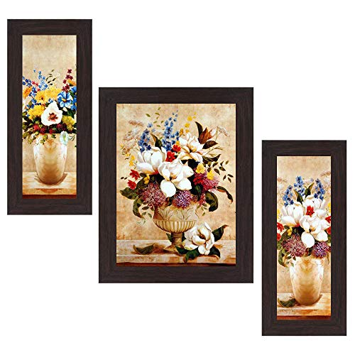 Wens 'Magnificent Joyfulness' Wall Art (MDF, 30 cm x 34 cm x 1.5 cm, WSP-4285)