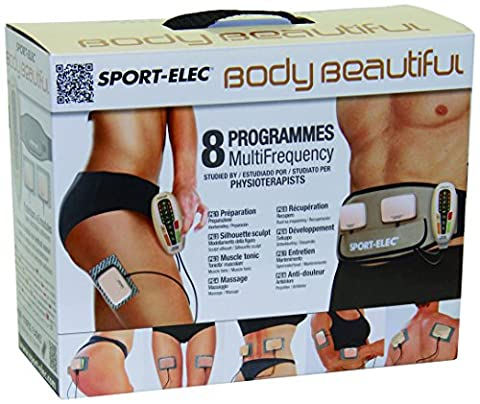 Sport-Elec Body Beautiful muni de 2 modules plus ceinture